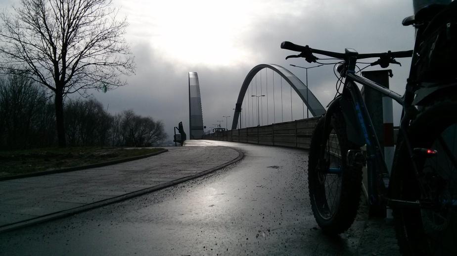 Lichtblick auf der DonaubrückeSchwabelweis