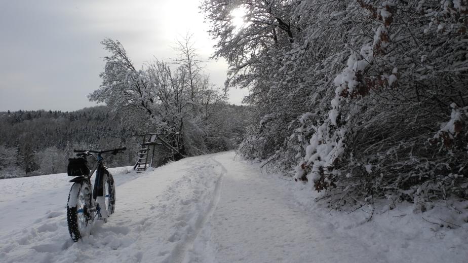 Über Nacht wurde Ostbayernschneeweiß
