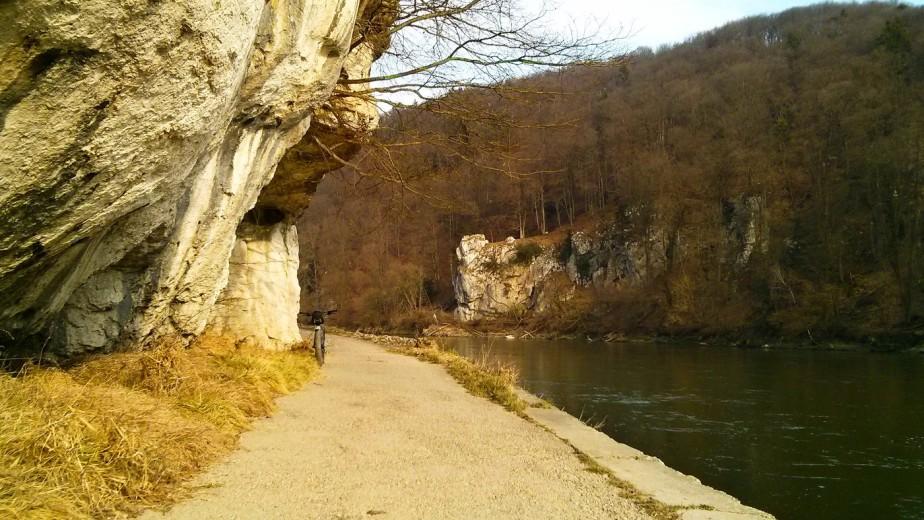 Im Donaudurchbruch amBienenkorb