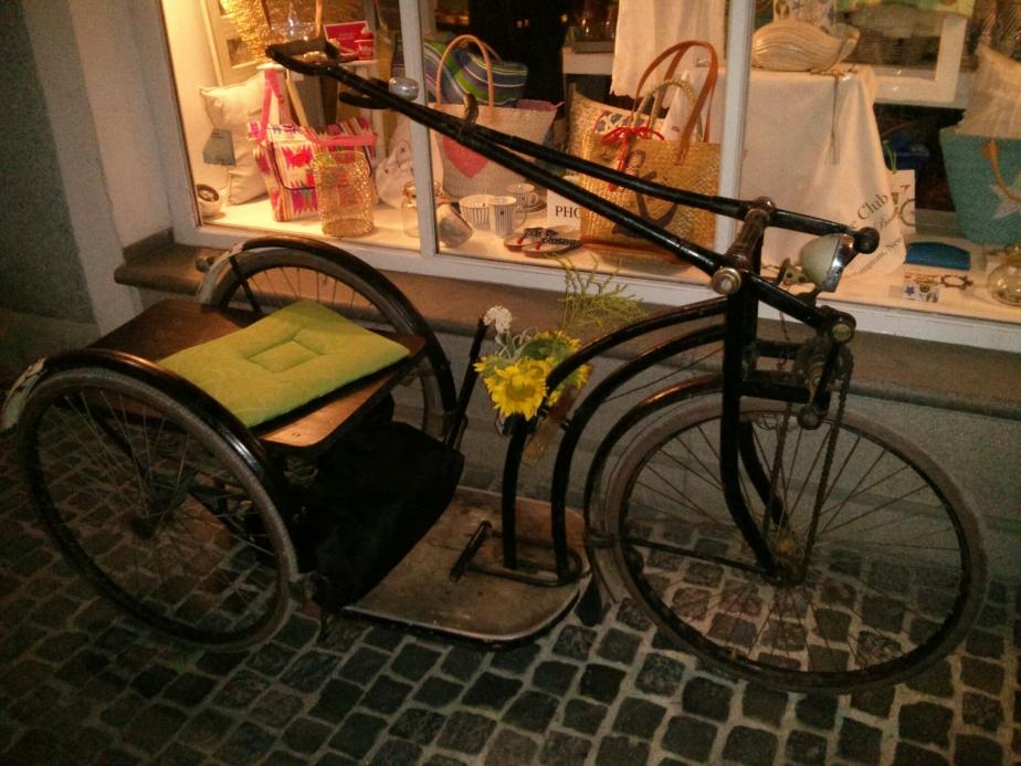 Dreirad mit Handantrieb (Anfang1900)