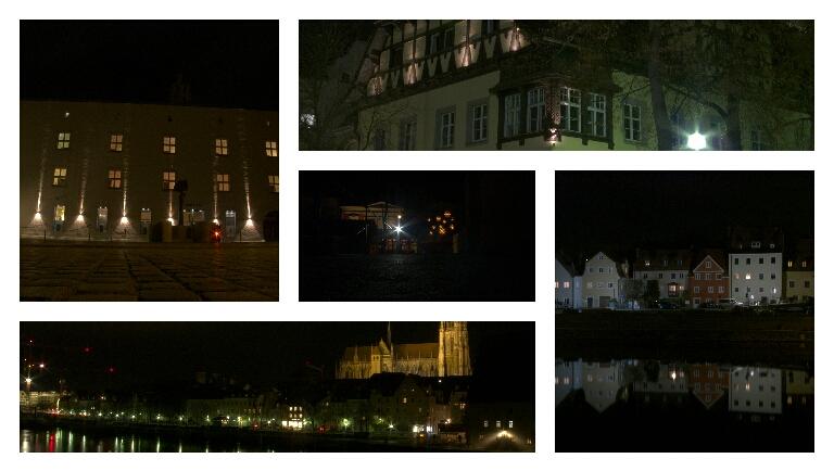 Nachtrunde – Stadt – Land –Fluss