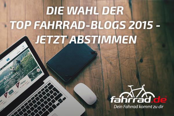 Top Fahrrad-Blogs 2015 – Zwischenstand derAbstimmung