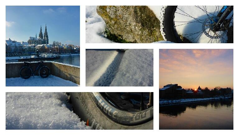 Schnee, Eis, Mond, Sonne,Kälte