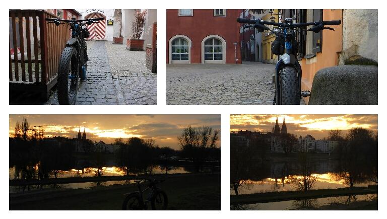 Sonntag in der Altstadt und an derDonau