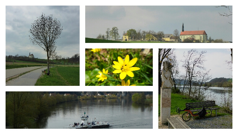 Zwischen Donau-/Naab- undRegental