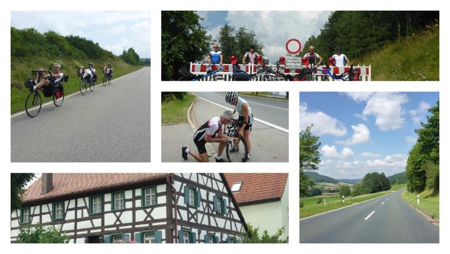 Nordbayernrunde Tag 1