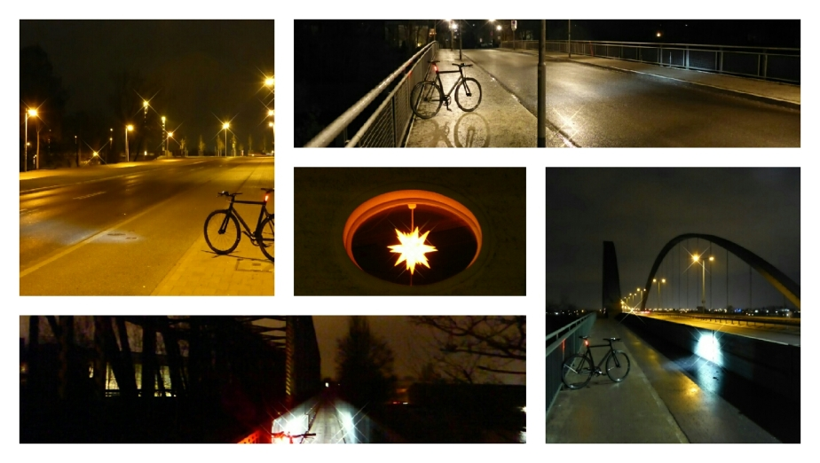 Viktor, Regen, Dunkelheit und Lichter