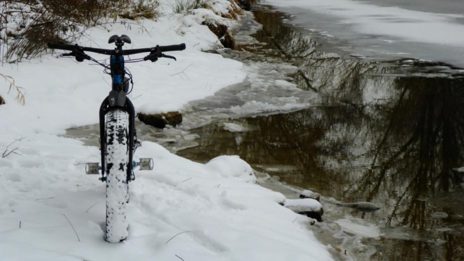 Mit dem Fetten in Schnee und Eis