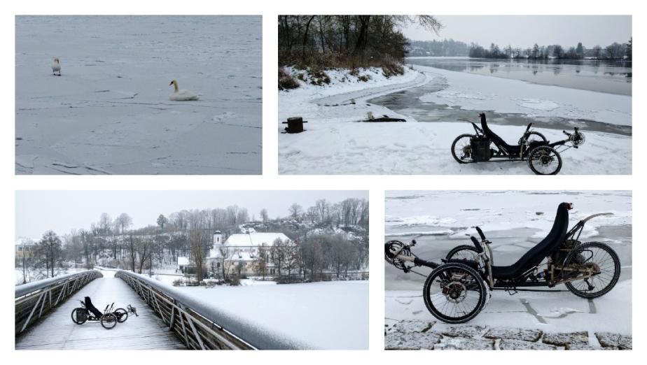 Dauerfrost auf drei Rädern, man gewöhnt sich daran