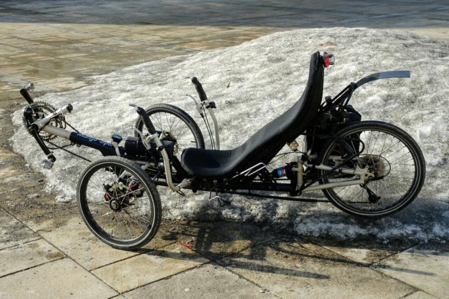 Dreirad sucht Frühling …
