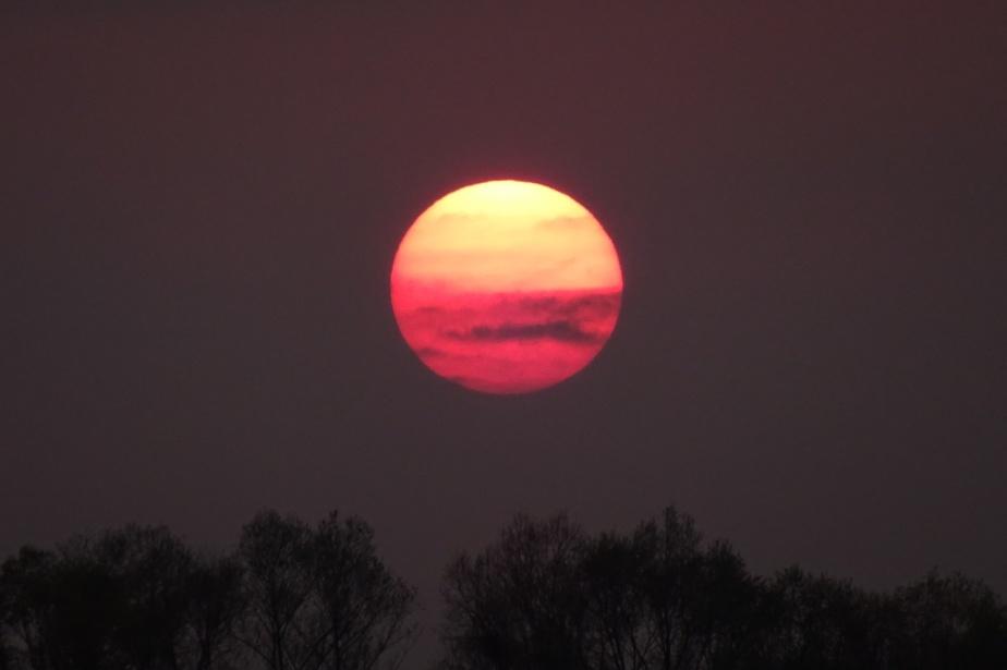 Viktor, Jahninsel und Sonnenuntergang