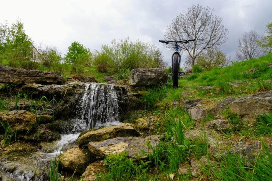 Mit dem Fetten zum Wasserfall