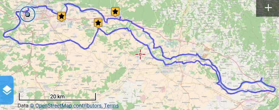 Mit dem Carbonara durch den Gäuboden und durchs Donautal