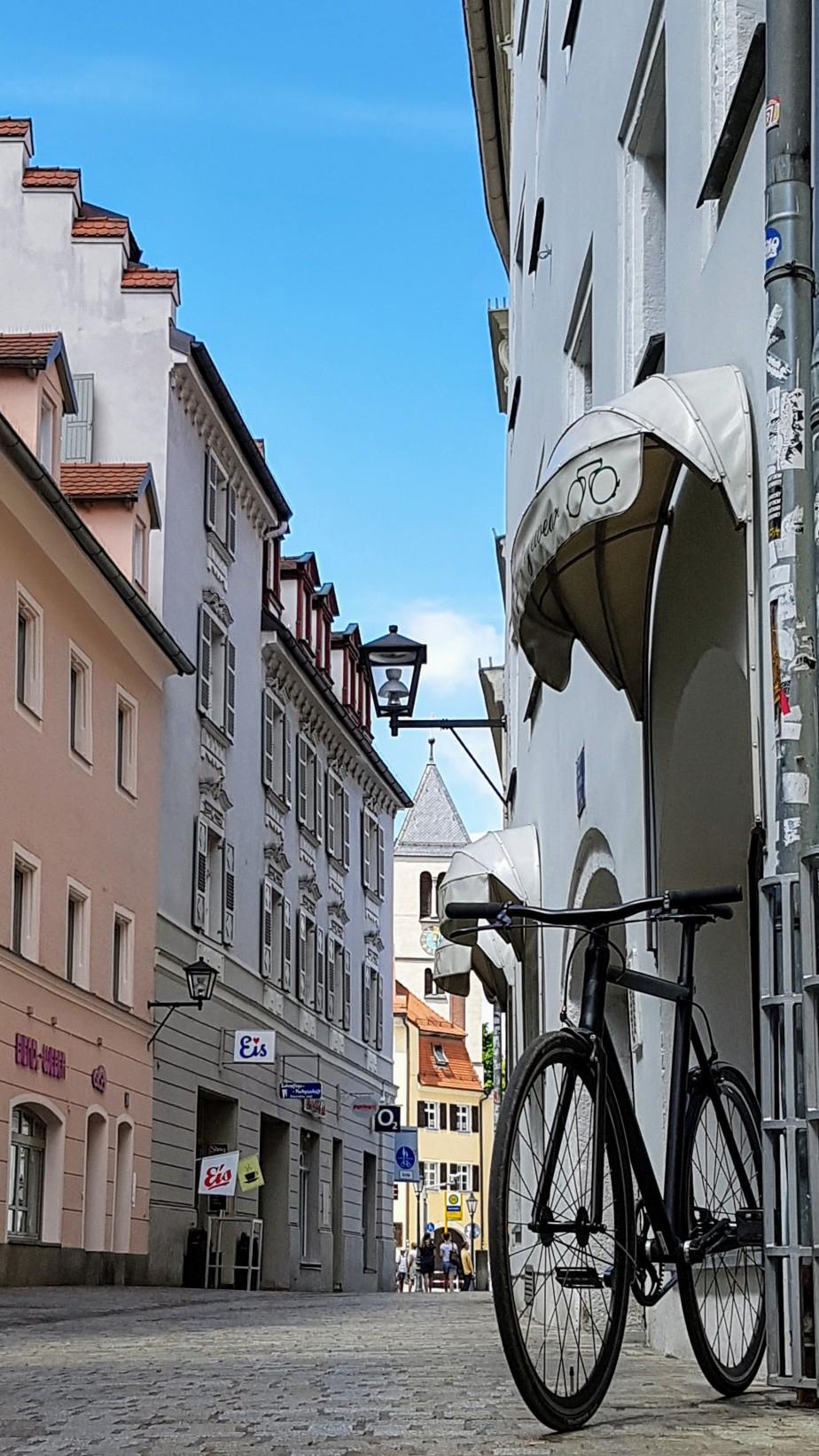 Viktor auf der Altstadtrunde