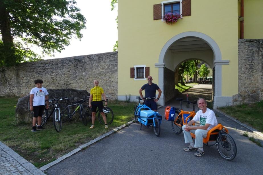 Viktor und ein paar andere Räder in Adlersberg
