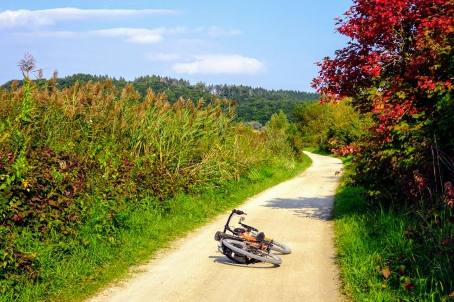 Herbstliche off-road-Runde mit demFlachen