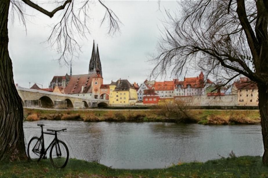 Allerlei Eindrücke von Stadt, Land undFluss